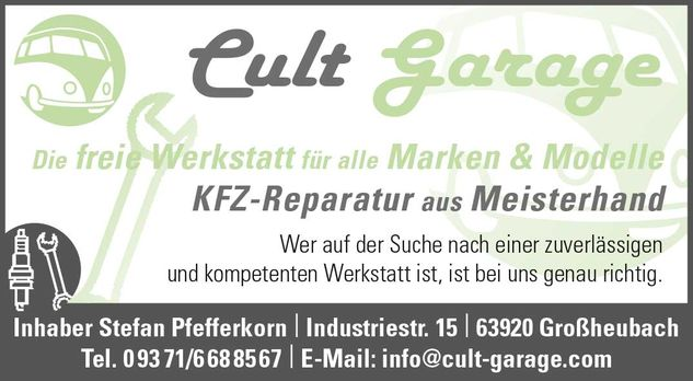 ​Cult Garage​ in ​Großheubach​
